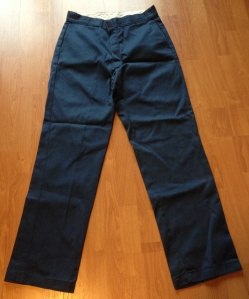 dickies pants blue